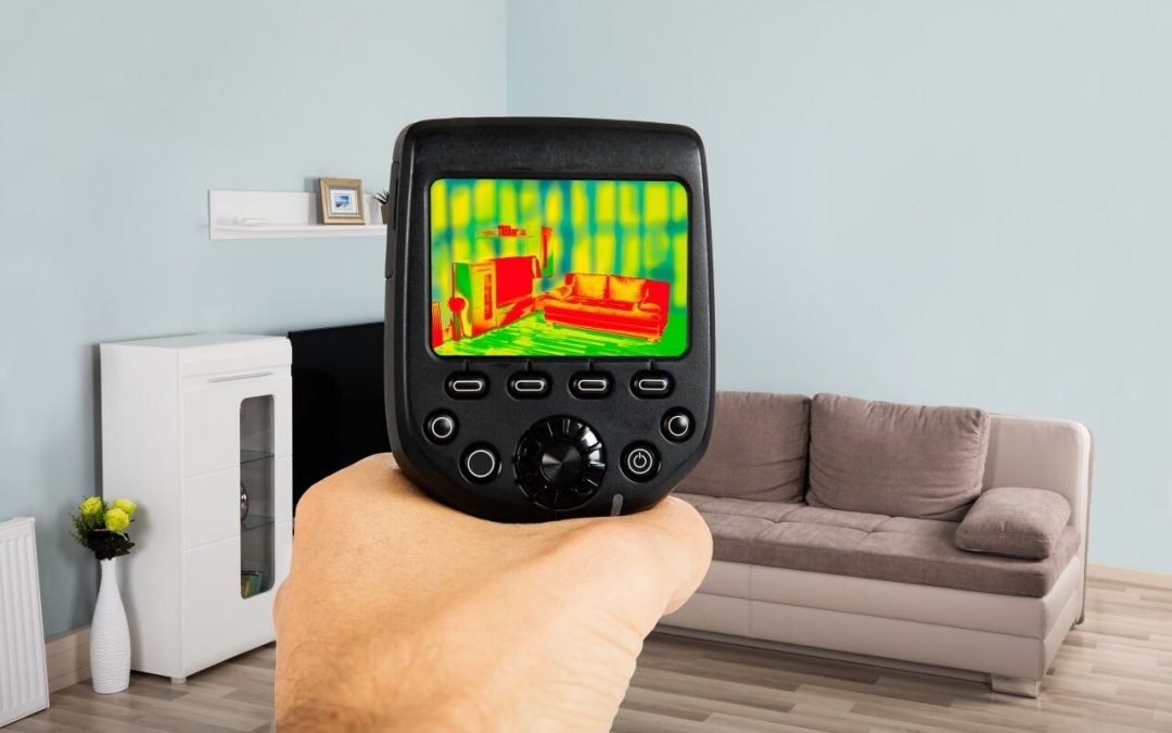 thermal imaging in home inspections detects differences in heat signatures